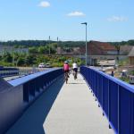 Most Valy - Mělice - kompozitní rošty na oboustranném chodníku
