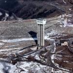 VD Šance - věž přehrady ve výstavbě