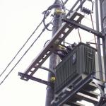 Kompozitní kabelová lávka na trafostanici