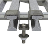Příponka roštu PREFAPOR 15x23/32, 15x23/38 - typ 727