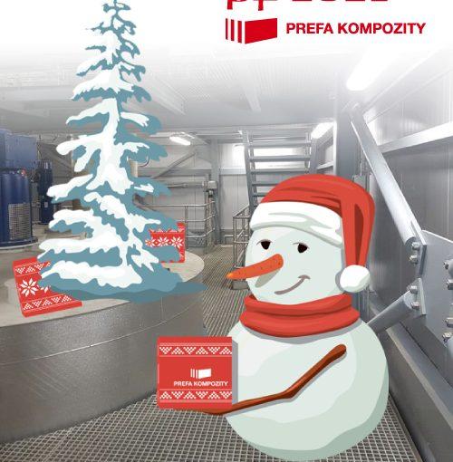 Vánoční a novoroční odstávka ve výrobě PREFA KOMPOZITY